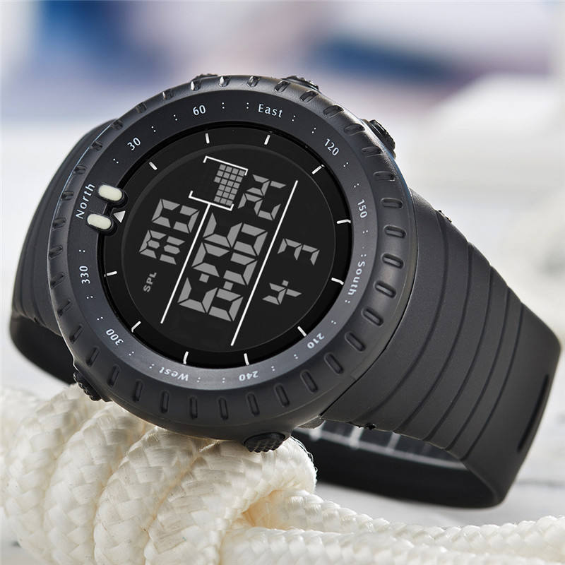 Luxury Brand Men Sports Watches 50 meters Waterproof Digital LED Military Watch for Men Fashion Casual Electronics Wrist Watches