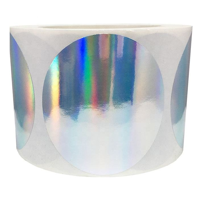 destructible customised waterproof security self adhesive printing hologram sticker etiquetas small holographic label