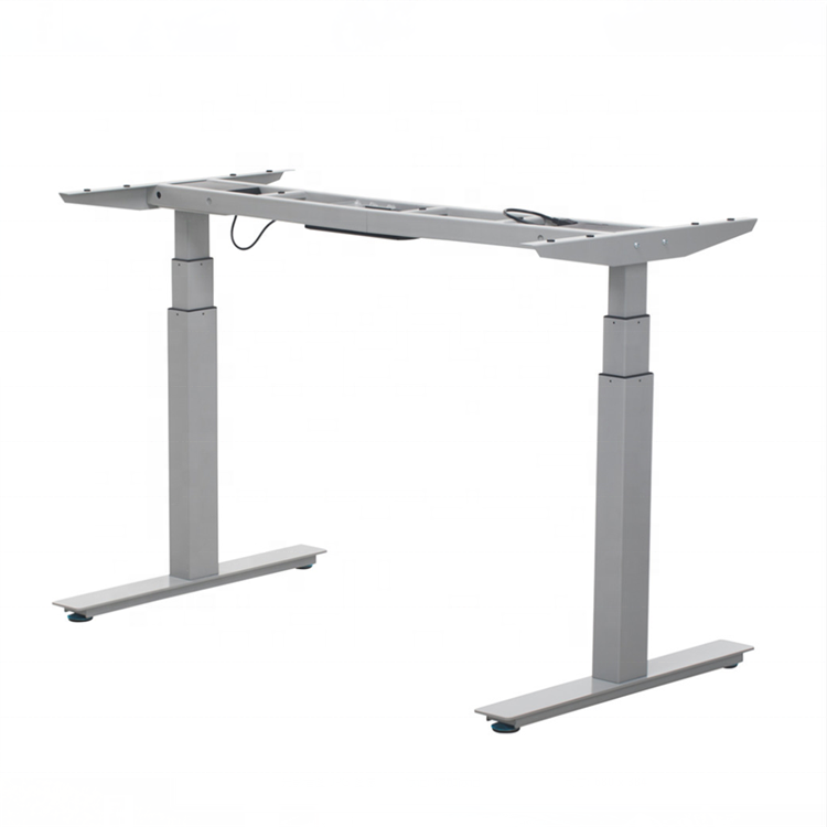 White Adjustable Height Table Uplifting Folding Standing Sit Stand Up Lift Electric Lifting Uplift Desk