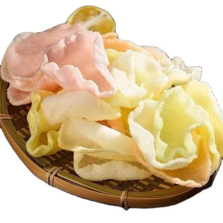 Superior Quality Dry Cracker Snacks Shrimp Chips Prawn Crackers Seafood Products