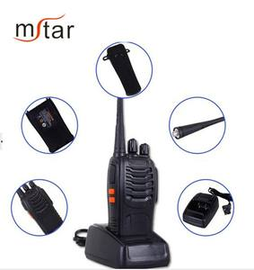 Baofeng handheld rádio 2Way 888S ultra high frequency 10 km gama debaixo d' água walkie talkie