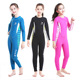 Kids Wetsuits 2.5MM Premium Neoprene for Boys Girls Warmth Long Sleeve Back Zip Youth Diving Suit