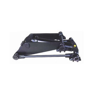 small hydraulic dump truck hoist KRM100 cylinder for tipper trailer best quality and low price