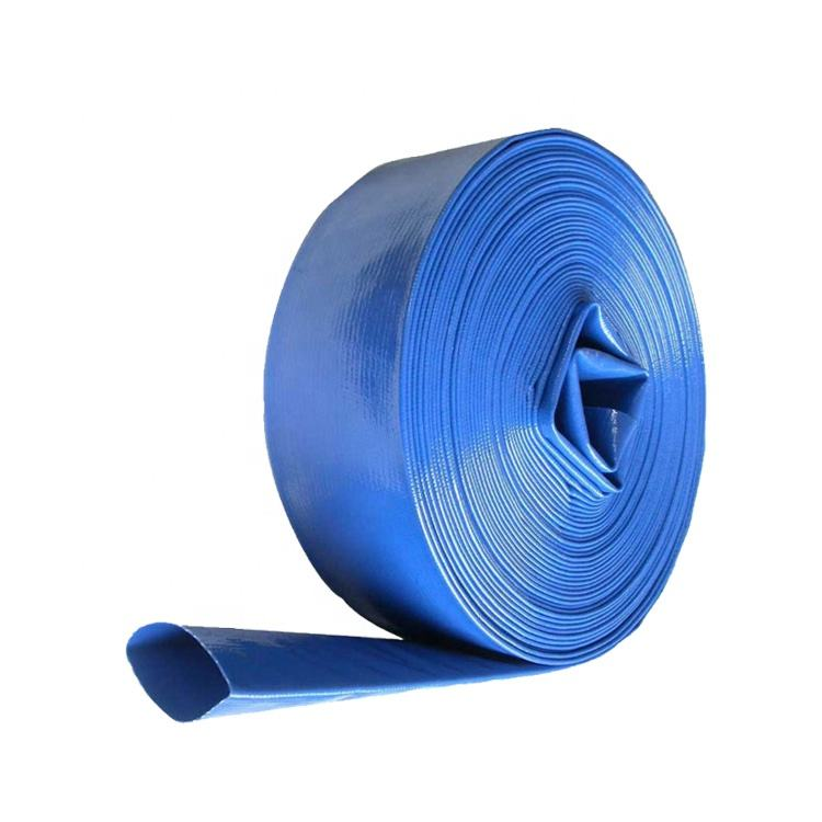 "1"" 2"" 3"" 4"" 6"" 8"" 10"" 12"" flexible soft pvc layflat irrigation water hose"