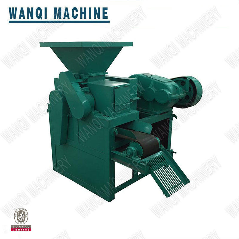 New Making Blind Chromium Powder Briquette Coal Ball Compacting 10 Tph Briquetting Machine