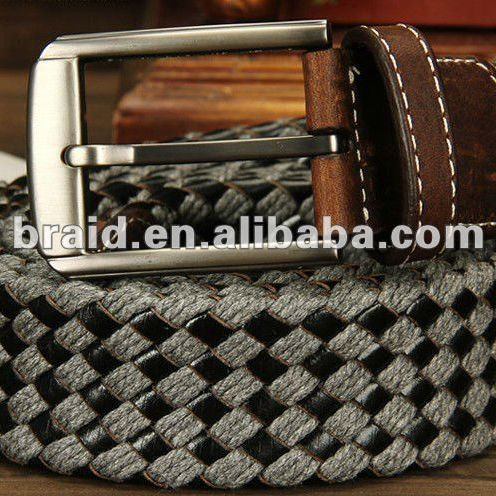 fabric knitted canvas belt