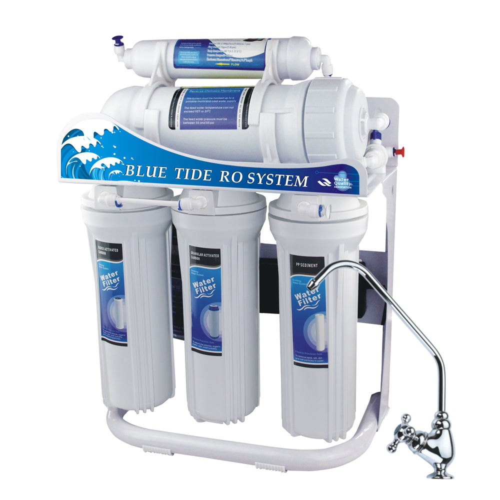 Big Capacity Reverse Osmosis Water Filter High Flow RO Purifier Tankless