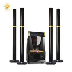Factory supply super bass 5.1 speaker wireless home theatre system