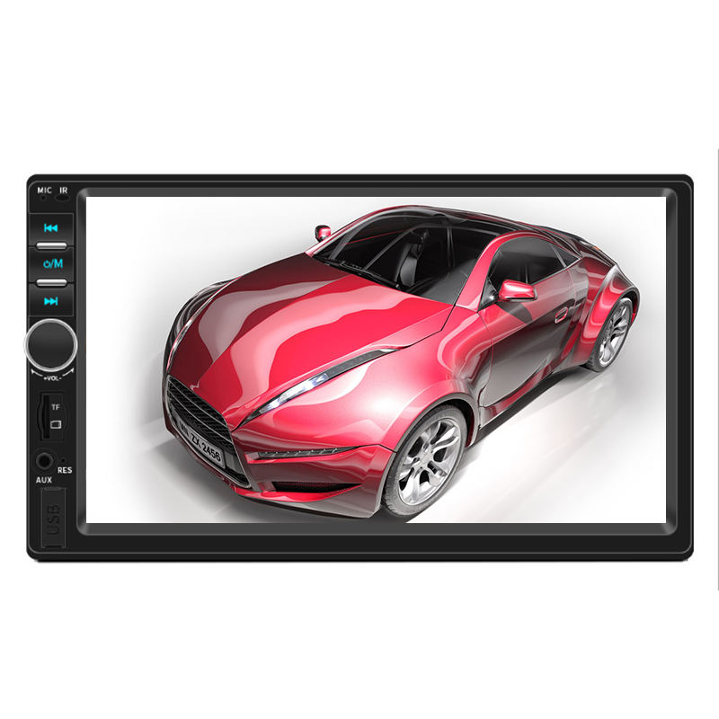 "Fabrik Mp5 Player 7 Inch AutoRadio Auto Ster 7 ""Doppel 2 DIN Kopf <span class=keywords><strong>Einheit</strong></span> Bluetooth Touch Screen BT Radio FM/USB/AUX Elektronik"