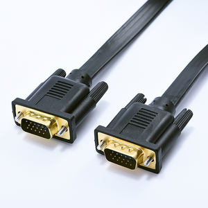 Factory direct selling high quality 3 + 6 VGA cable computer video cable display cable 1.8m