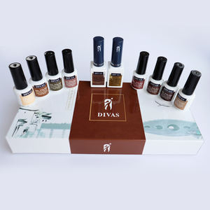 DIVAS nagel design weg tränken 8 farben gel set professionelle nagel kit gel polish set