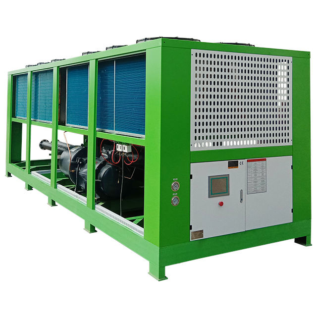 Industrial Process Cooling Air-Cooled Type Screw Water Chiller
