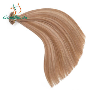 Groothandel Russische Remy Maagd Nano Ring Haarverlenging Fabrikant Double Drawn Keratine Nano Ring Tip Hair Extensions