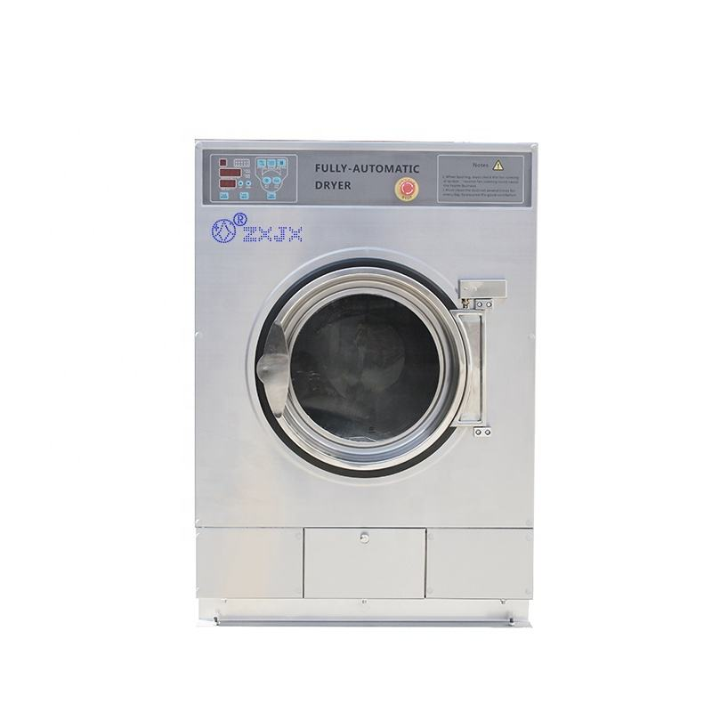 machine wash with token coin/card operated industrial dryer machine laundries