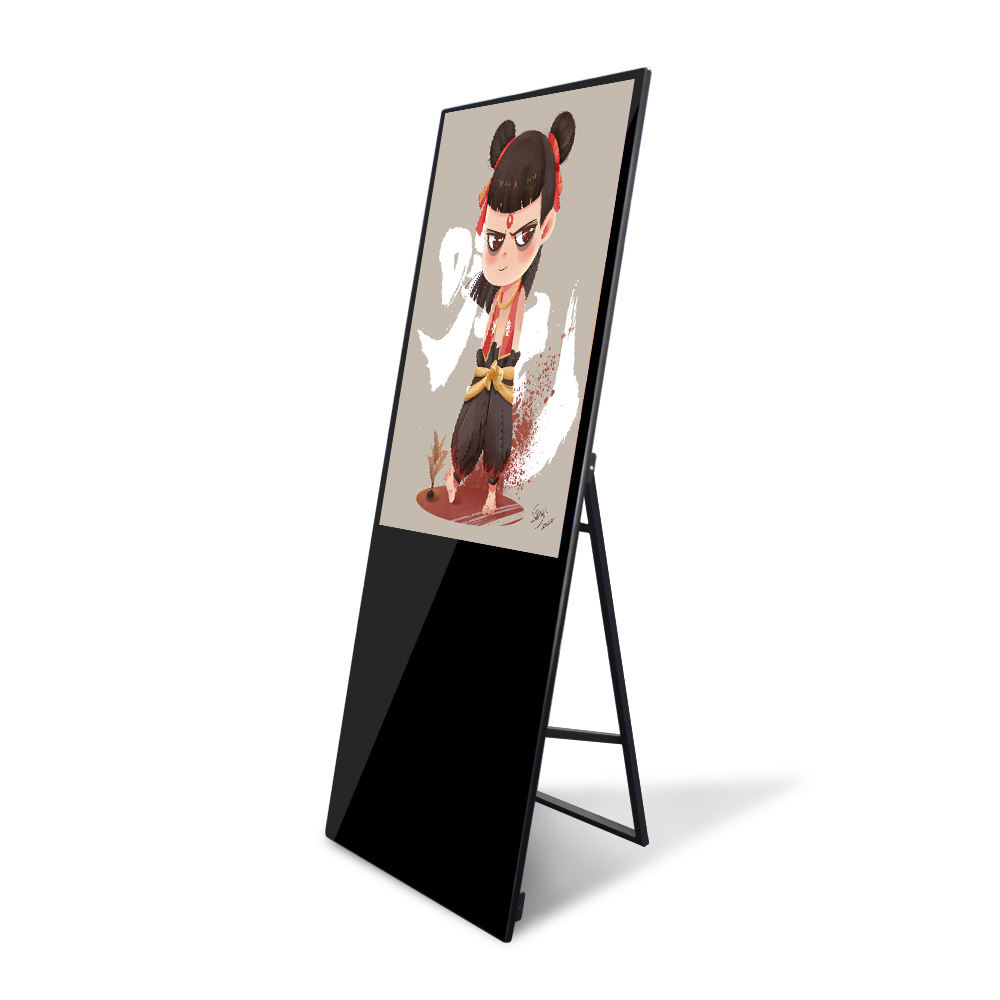 Prezzo basso coperta 43 &#39;&#39;led media player pavimento in piedi android <span class=keywords><strong>lcd</strong></span> digital signage chiosco