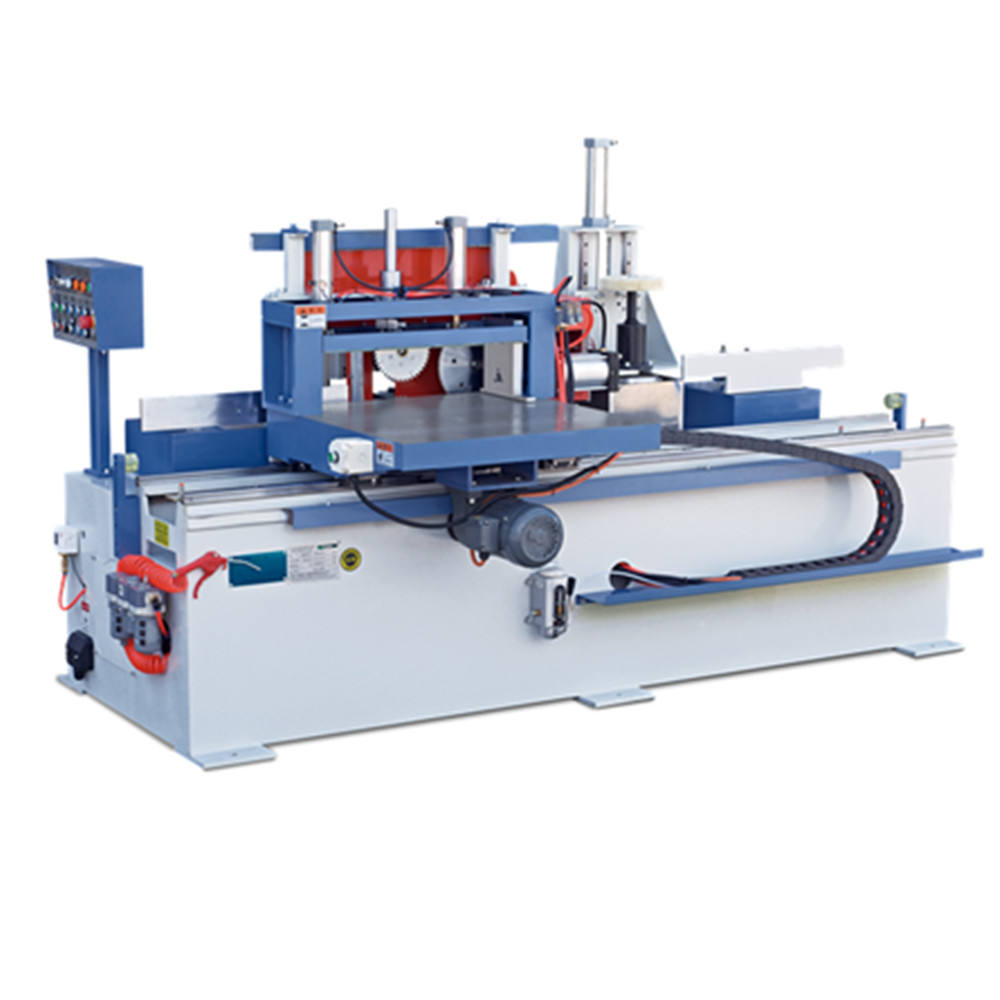 Wood Laminating Gluing Device Automatic Finger Joint Shaper For Woodworking
