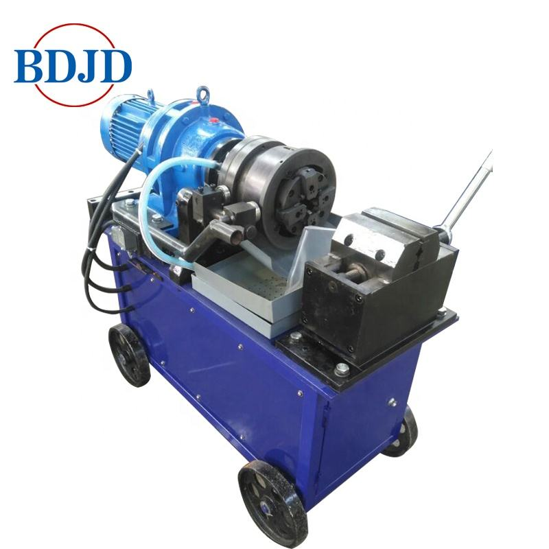 used steel bar peeling machine silk peeling machine thread silk for rod building