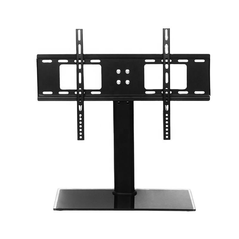 VESA Tabletop bracket 32-65 inch LCD/OLED/Flat Screen/4K Height Adjustable TV Stand Mount with steel base DZ903