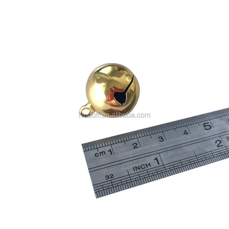High quality 25mm brass bell for decoration/brass temple bell, metal bell