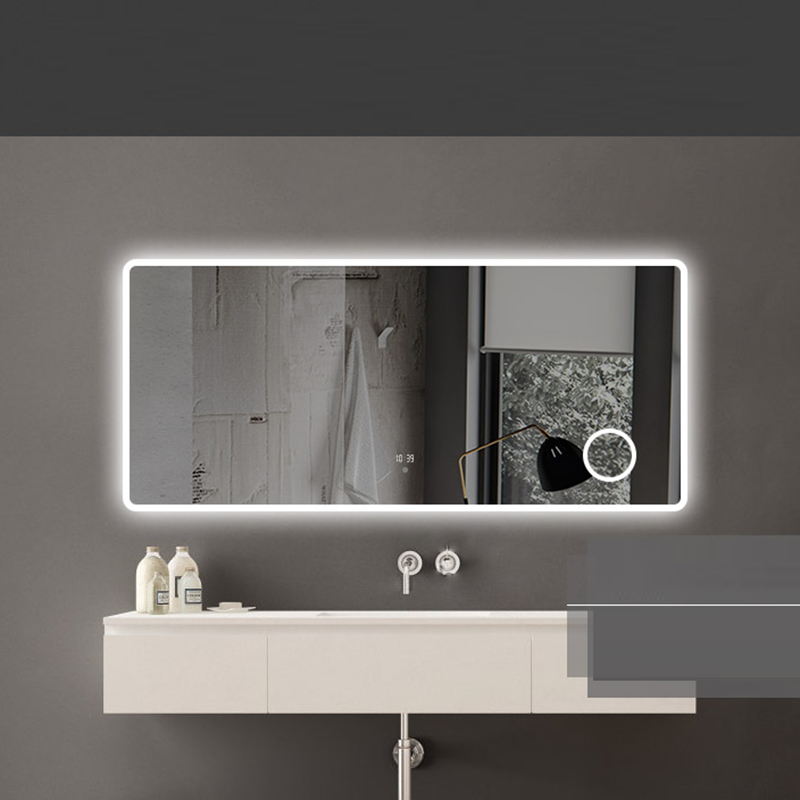 Factory Price light Smart Bluetooth Bathroom Vanity LED Mirror with magnify