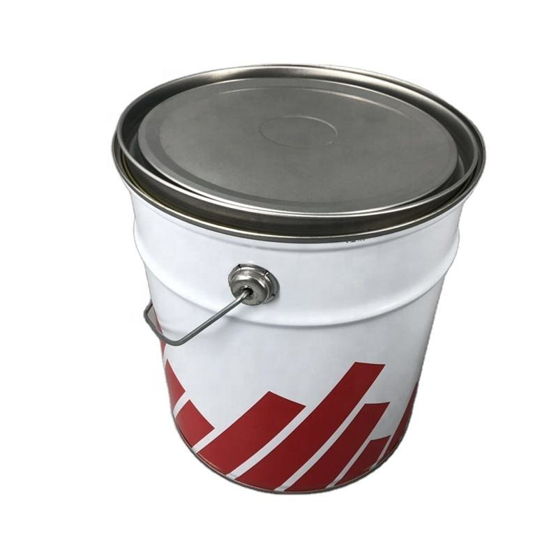 manufacture New type of 5L paint tin can bucket