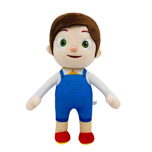 Hot Selling Cartoon Toys CoCoMelon JJ Little Boy Plush Doll Watermelon Cocomelon Children's JOJO Doll