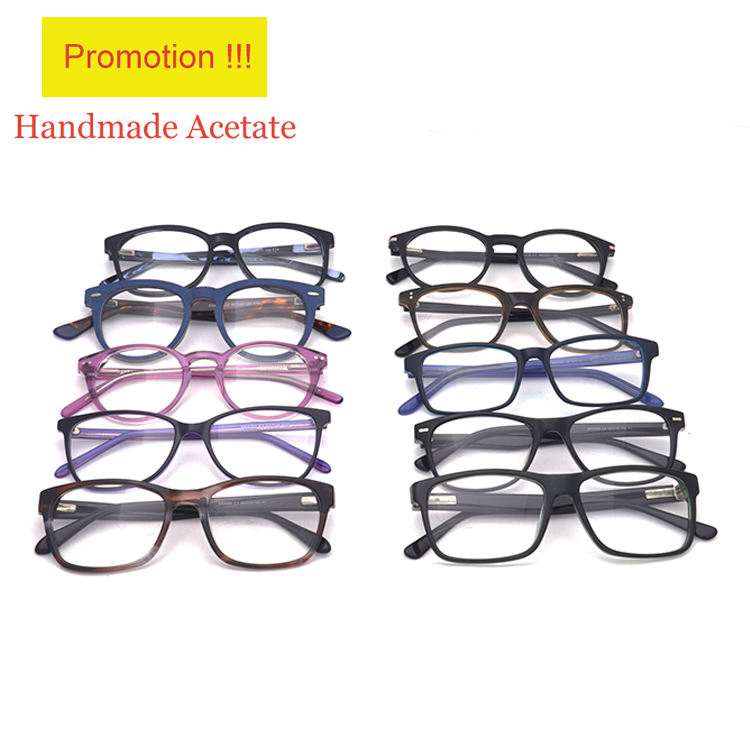 Ready Stock Amazon Hot Sell Wholesale Mixed Models Eyeglass Eyewear Acetate Optical Frames Price