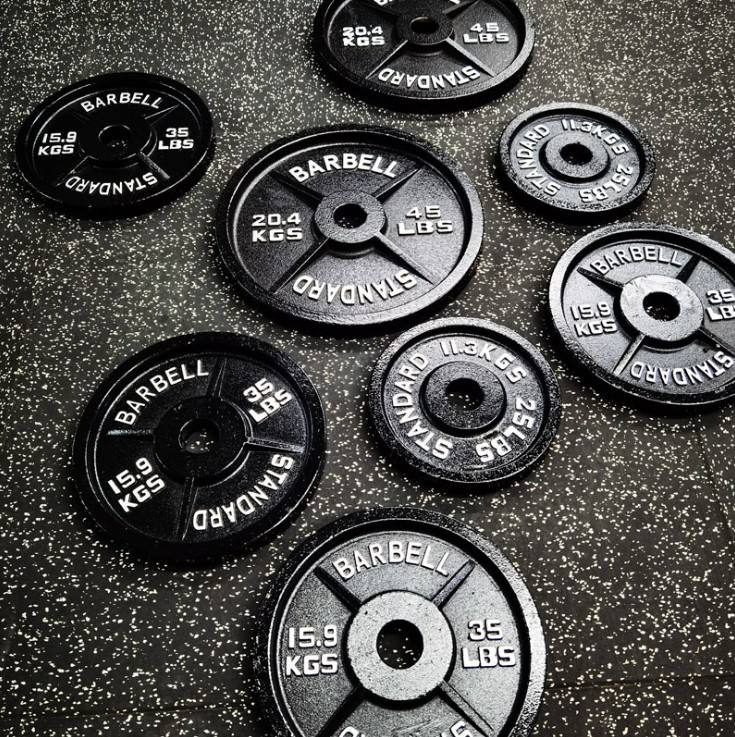 Weight Plates Cast Iron Cast Iron Weight Lifting Plates Metal Iron Olympic Lbs Cast Iron Plates