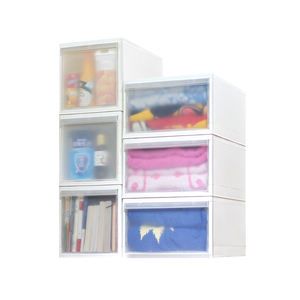 Custom DIY Cabinet Stackable Drawers Storage Baby Plastic Drawer