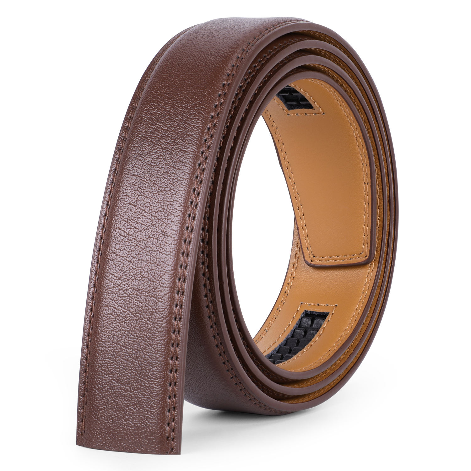 2020 Fashion Automatic Leather Belt Strap for Business Men
