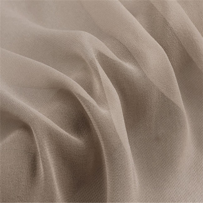 2020 Fashion GGT Solid Color 8M/M 140CM 100% Pure Silk Georgette Fabric for Clothing Dress