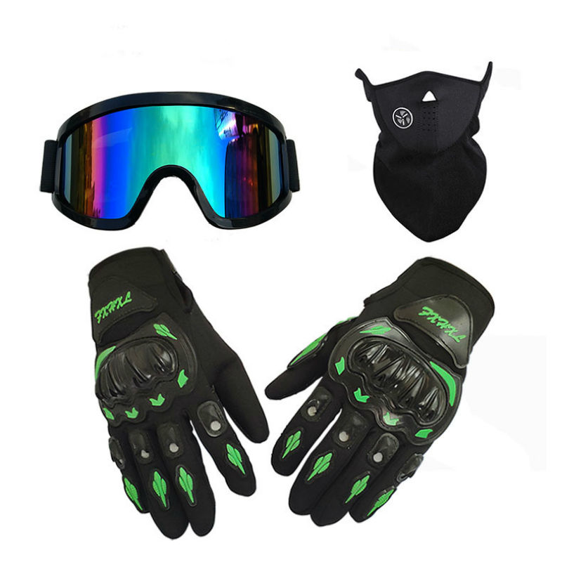 The latest combination hot sale sport Motorbike Motocross Riding Racing Full Finger Motorcycle biker gloves racing