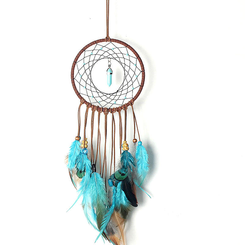 Blue color home decorative dream catcher