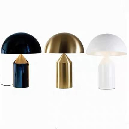 Nordic mushroom head table lamp simple personality creative study lamp desk bedside modern table lamp