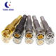 Gold plated 75ohm zinc bnc male rg59 connector with competitive price