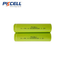Factory cheap price 1.2V 4/3A 3800mah 17670 nimh  battery for sweeping robot