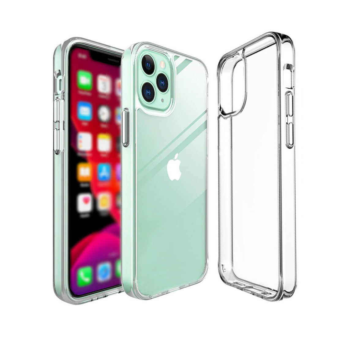 Clear Telefoon Case Voor Iphone 7 12 Mini Case Iphone Xr Silicon Soft Cover Voor Iphone 11 12 Pro Xs max X 8 7 6 S Plus SE2 Case
