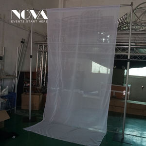NOVA Pipe And Drapes For Wedding/ Wedding Backdrop Curtains/hanging Paisleys