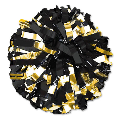 Wholesale Cheap Cheerleading Mystique Mix color Gold Pom Poms