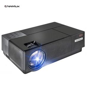 Cheerlux 4000Lumen LCD Proyektor 1080 P Full HD Video Projector LED Home Cinema Smart Proyektor Layar Home Theater beamer