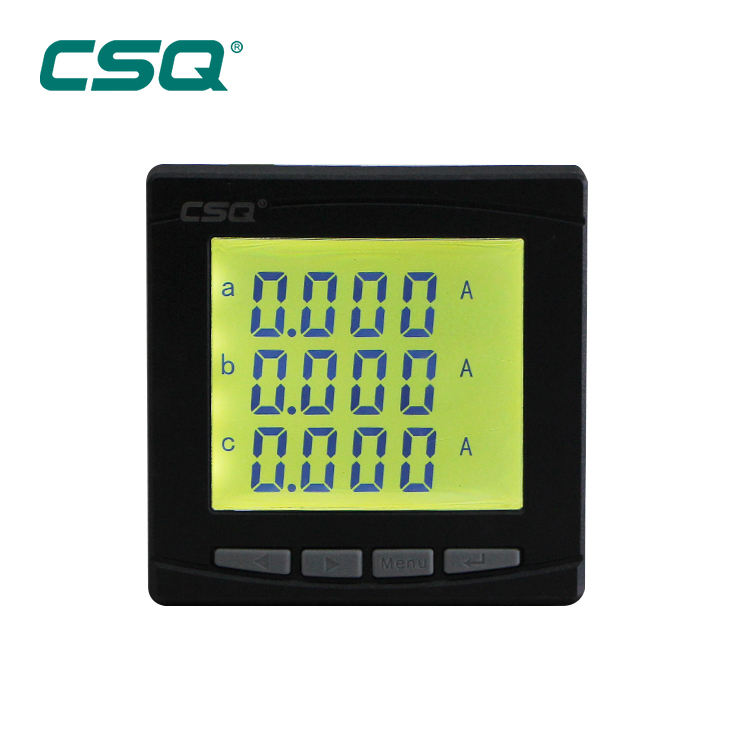 Digital LCD Display Digital Multifunction Power Meter generator AC 220V multifunction insulation resistance meter manufacturer
