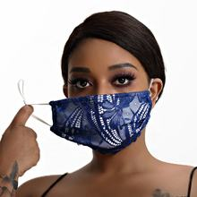 Face Star Wholesale Cotton  Anti-fog  Dust Stereoscopic Fashion Mouth lace embroidered pm2.5 maske