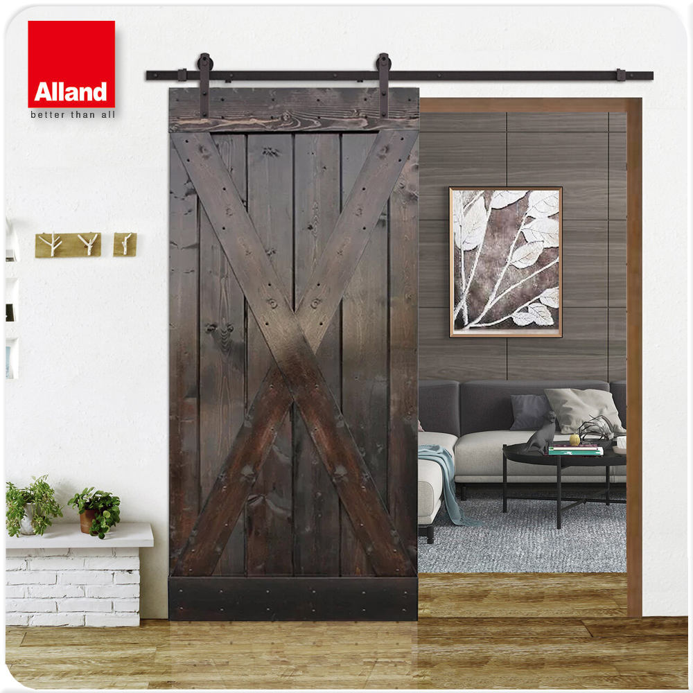 CRAFTSMAN HORIZONTAL PANEL SLIDING BARN DOOR