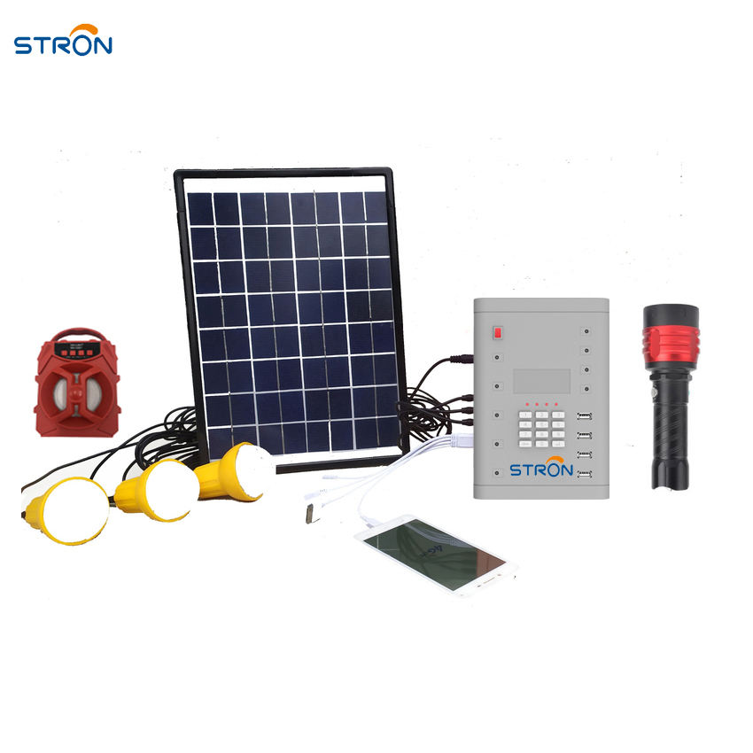 Pay As you Go solar home system Keypad input type multiple appliances with Vending software