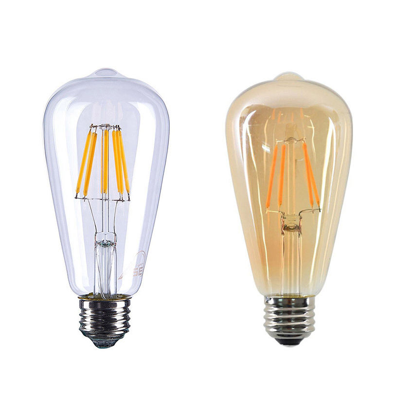 Lampu Led Dimmable Filamen <span class=keywords><strong>Ampul</strong></span> E27 G80 G95 G125 ST64 A60