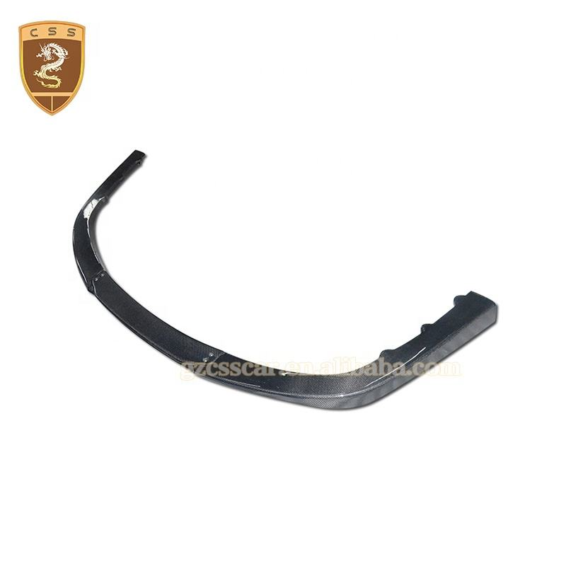 Vors Style Auto Kohle faser Front stoßstange Splitter Spoiler <span class=keywords><strong>Lippe</strong></span> für F458 Autoteile