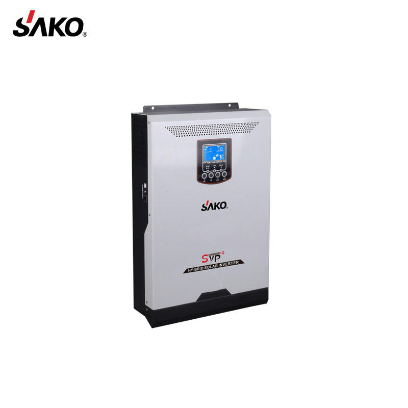 New Arrival SVP 3KW 50A PWM Controller Built Hybrid Solar Inverter 3KVA Home System