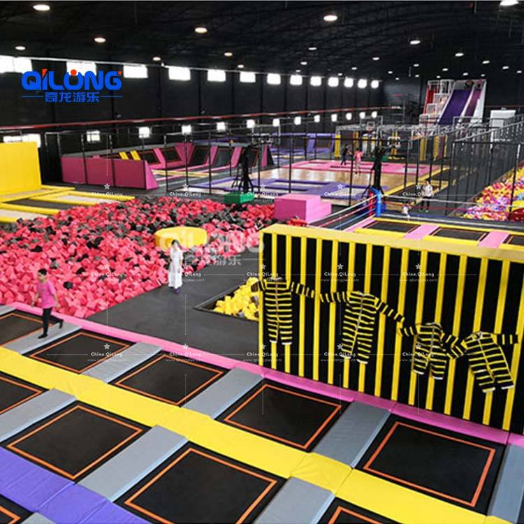 High Quality Professional New Design Durable Children Adults Indoor Trampoline Park