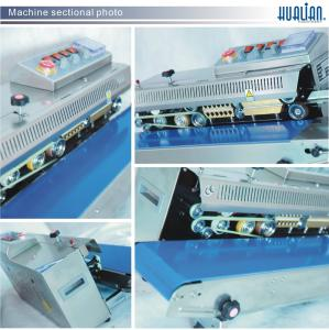 FRBM-810I HUALIAN Continuous Plastic Food Bag Heat Sealing Machine