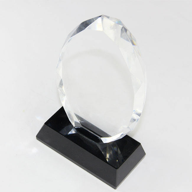 Whole Blank Peak Shield K9 Crystal Glass Trophy Award